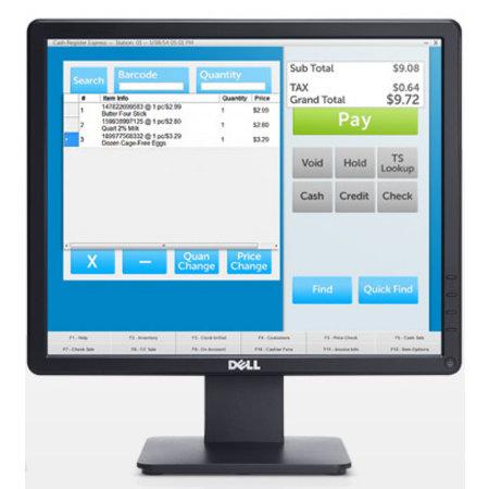 """Dell DELL E Series E1715S 43,2 cm (17"""") 1280 x 1024 Pixels SXGA LCD Zwart"""