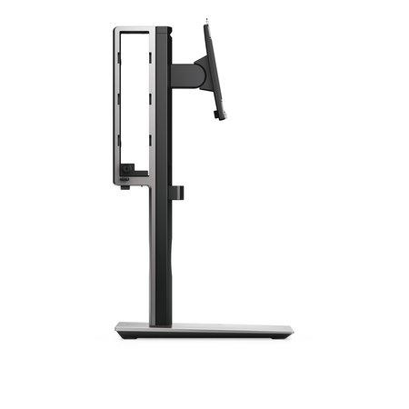"""Dell DELL MFS18 flat panel bureau steun 68,6 cm (27"""") Vrijstaand Zwart, Zilver"""