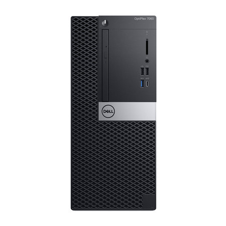 Dell DELL OptiPlex 7060 Intel® 8ste generatie Core™ i7 i7-8700 8 GB DDR4-SDRAM 256 GB SSD Zwart Toren PC