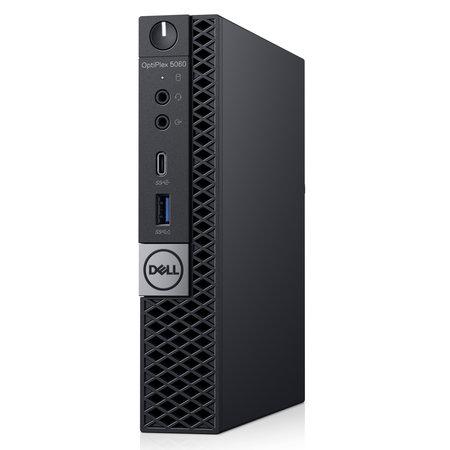Dell DELL OptiPlex 5060 Intel® 8ste generatie Core™ i5 i5-8500T 8 GB DDR4-SDRAM 1000 GB HDD Zwart MFF Mini PC