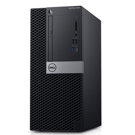 Dell DELL OptiPlex 5060 Intel® 8ste generatie Core™ i5 i5-8500 8 GB DDR4-SDRAM 1000 GB HDD Zwart Mini Toren PC