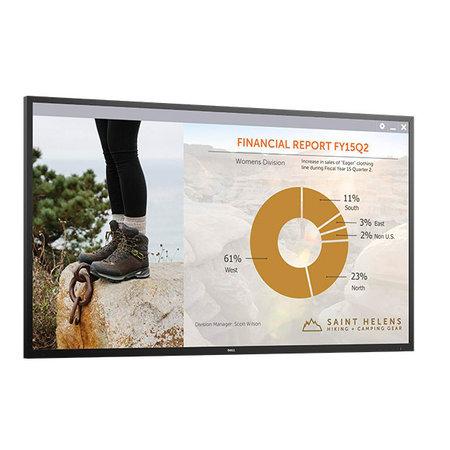 """Dell DELL C7016H 176,5 cm (69.5"""") Full HD Zwart"""
