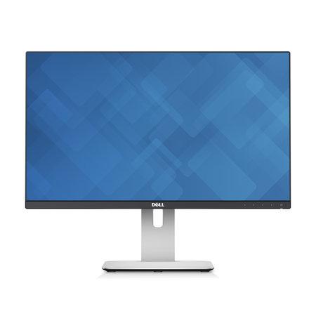 "Dell DELL UltraSharp U2414H LED display 60,5 cm (23.8"") Full HD Flat Mat Zwart, Zilver"