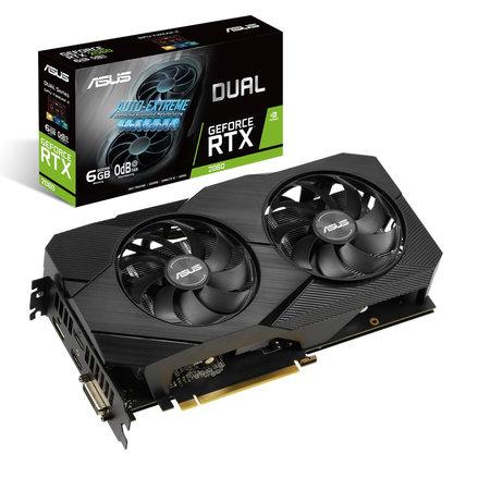 Asus ASUS Dual -RTX2060-6G-EVO NVIDIA GeForce RTX 2060 6 GB GDDR6