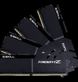 G.Skill G.Skill Trident Z F4-3600C16Q-32GTZKK geheugenmodule 32 GB 4 x 8 GB DDR4 3600 MHz