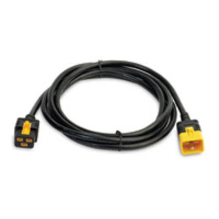 APC APC Power Cords electriciteitssnoer Zwart 3 m C19 stekker C20 stekker