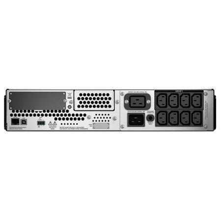 APC APC Smart-UPS SMT3000R2I-6W - Noodstroomvoeding 8x C13, 1x C19, USB, 6 jaar garantie, 3000VA