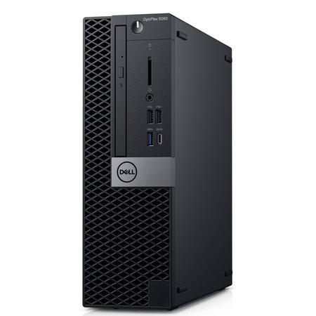 Dell DELL OptiPlex 5060 Intel® 8ste generatie Core™ i5 i5-8500 8 GB DDR4-SDRAM 256 GB SSD Zwart SFF PC