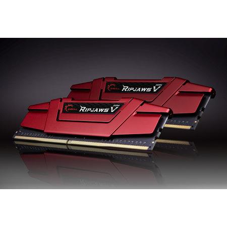 G.Skill G.Skill Ripjaws V F4-3600C19D-16GVRB geheugenmodule 16 GB 2 x 8 GB DDR4 3600 MHz