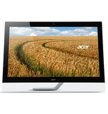 "Acer Acer T2 T272HULbmidpcz touch screen-monitor 68,6 cm (27"") 2560 x 1440 Pixels Zwart Tafelblad"