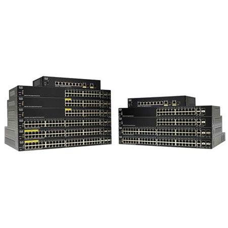 Cisco Small Business Cisco SG250-26-K9-EU netwerk-switch Managed L2 Gigabit Ethernet (10/100/1000) Zwart