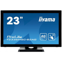"iiyama ProLite T2336MSC-B2AG touch screen-monitor 58,4 cm (23"") 1920 x 1080 Pixels Zwart Multi-touch"