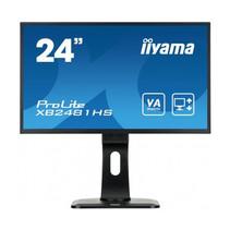 24i LED LCD  1920x1080  13cm Height Adj. Stand  VA panel  250cd/m  >12mlnln:1 ACR  VGA  DVI  HDMI  6ms  Speakers  TCO6super slim bezel   (23 6i/60cm VIS)
