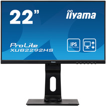 "iiyama ProLite XUB2292HS-B1 LED display 54,6 cm (21.5"") 1920 x 1080 Pixels Full HD Zwart"