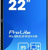 "Iiyama iiyama ProLite XUB2292HS-B1 LED display 54,6 cm (21.5"") 1920 x 1080 Pixels Full HD Zwart"