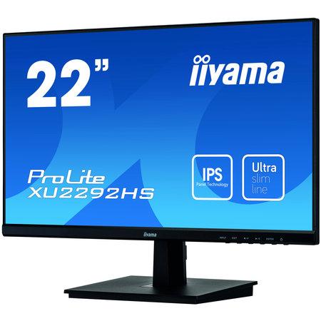 "Iiyama iiyama ProLite XU2292HS-B1 LED display 54,6 cm (21.5"") 1920 x 1080 Pixels Full HD Zwart"