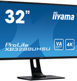 "Iiyama iiyama ProLite XB3288UHSU-B1 LED display 80 cm (31.5"") 3840 x 2160 Pixels 4K Ultra HD Zwart"