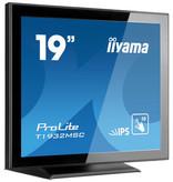 "Iiyama iiyama ProLite T1932MSC-B5AG touch screen-monitor 48,3 cm (19"") 1280 x 1024 Pixels Zwart Multi-touch Tafelblad"