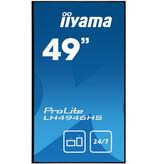 """Iiyama iiyama LH4946HS-B1 beeldkrant 123,2 cm (48.5"""") LED Full HD Digitale signage flatscreen Zwart Android"""