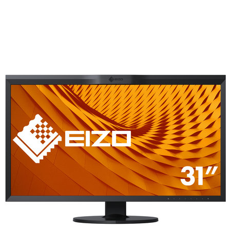 "Eizo EIZO ColorEdge CG319X LED display 79 cm (31.1"") 4096 x 2160 Pixels 4K DCI Zwart"