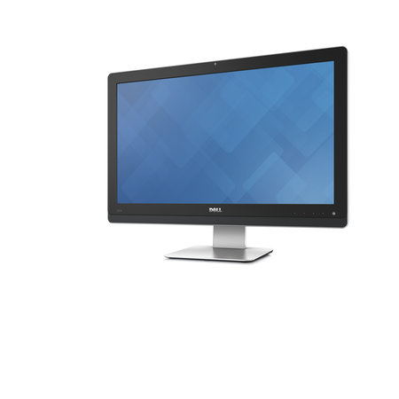 "Dell Dell Wyse 5040 54,6 cm (21.5"") 1920 x 1080 Pixels AMD G T48E 2 GB DDR3-SDRAM 8 GB Flash Zwart, Zilver All-in-One thin client"