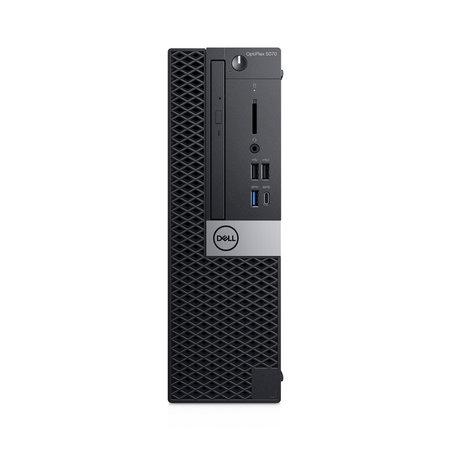 Dell DELL OptiPlex 5070 Intel® 9de generatie Core™ i5 i5-9500 8 GB DDR4-SDRAM 256 GB SSD SFF Zwart PC Windows 10 Pro