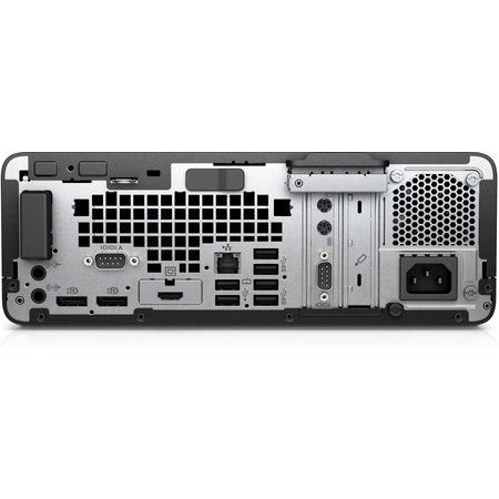 Hewlett & Packard INC. HP ProDesk 600 G4 Intel® 8ste generatie Core™ i3 i3-8100 8 GB DDR4-SDRAM 256 GB SSD Zwart, Zilver SFF PC