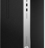 Hewlett & Packard INC. HP ProDesk 400 G6 9th gen Intel® Core™ i7 i7-9700 16 GB DDR4-SDRAM 512 GB SSD Zwart Micro Tower PC