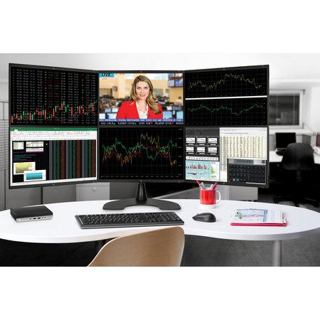 Hewlett & Packard INC. HP EliteDesk 800 G4 Intel® 8ste generatie Core™ i5 i5-8500 8 GB DDR4-SDRAM 256 GB SSD Zwart, Zilver Mini PC