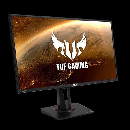 "Asus ASUS TUF Gaming VG27BQ 68,6 cm (27"") 2560 x 1440 Pixels WQHD LED Zwart"