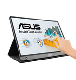 """Asus ASUS MB16AMT touch screen-monitor 39,6 cm (15.6"""") 1920 x 1080 Pixels Grijs Multi-touch Tafelblad"""