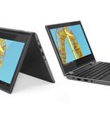 """Lenovo Lenovo 300e 2nd Gen Zwart Hybride (2-in-1) 29,5 cm (11.6"""") 1366 x 768 Pixels Touchscreen Intel® Celeron® N4100 4 GB LPDDR4-SDRAM 64 GB eMMC"""