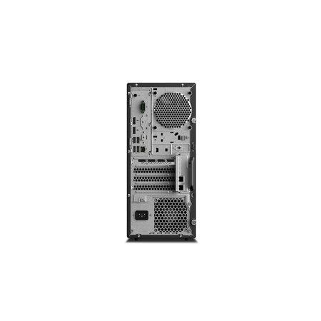 Lenovo Lenovo ThinkStation P330 9th gen Intel® Core™ i7 i7-9700 16 GB DDR4-SDRAM 256 GB SSD Zwart Toren PC