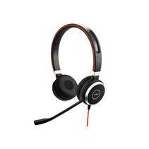 Jabra Evolve 40 MS Stereo Headset Hoofdband Zwart