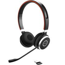 Jabra EVOLVE 65 MS Stereo Headset Hoofdband Zwart