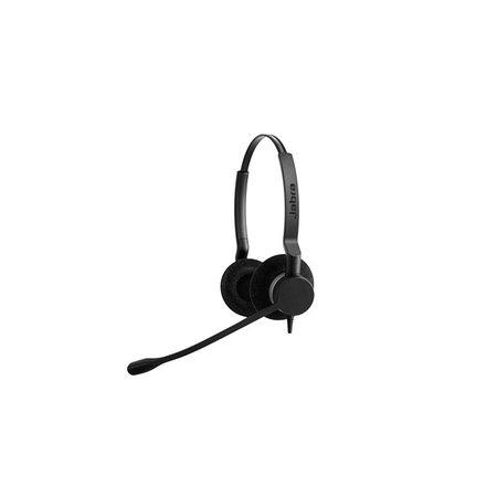 Jabra Jabra BIZ 2300 USB UC Duo Headset Hoofdband Zwart