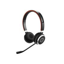 Jabra Evolve 65 UC Stereo Headset Hoofdband Zwart