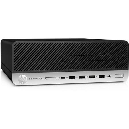 Hewlett & Packard INC. HP ProDesk 600 G5 9th gen Intel® Core™ i5 i5-9500 16 GB DDR4-SDRAM 512 GB SSD Zwart SFF PC