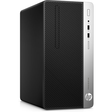 Hewlett & Packard INC. HP ProDesk 400 G6 9th gen Intel® Core™ i5 i5-9500 8 GB DDR4-SDRAM 256 GB SSD Zwart Micro Tower PC