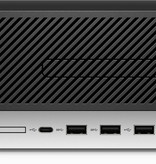 Hewlett & Packard INC. HP ProDesk 600 G5 9th gen Intel® Core™ i5 i5-9500 8 GB DDR4-SDRAM 256 GB SSD Zwart SFF PC