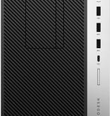 Hewlett & Packard INC. HP ProDesk 600 G5 9th gen Intel® Core™ i5 i5-9500 8 GB DDR4-SDRAM 256 GB SSD Zwart Micro Tower PC