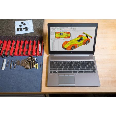 "Hewlett & Packard INC. HP ZBook 15 G5 Grijs Mobiel werkstation 39,6 cm (15.6"") 3840 x 2160 Pixels Intel® 8ste generatie Core™ i7 i7-8850H 32 GB DDR4-SDRAM 512 GB SSD"