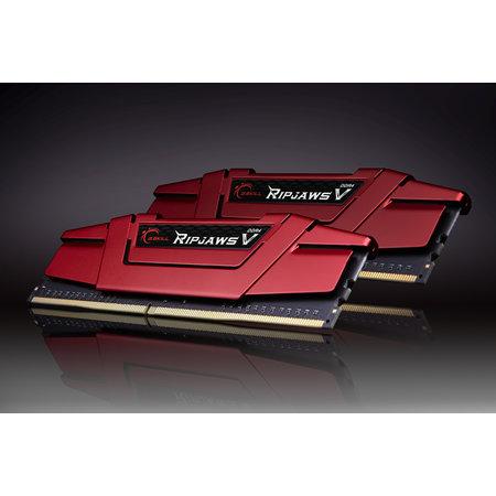 G.Skill G.Skill Ripjaws V F4-3000C16D-16GVRB geheugenmodule 16 GB 2 x 8 GB DDR4 3000 MHz