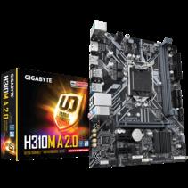 MB Gigabyte H310M A 2.0         (H310,1151,mATX,DDR4)