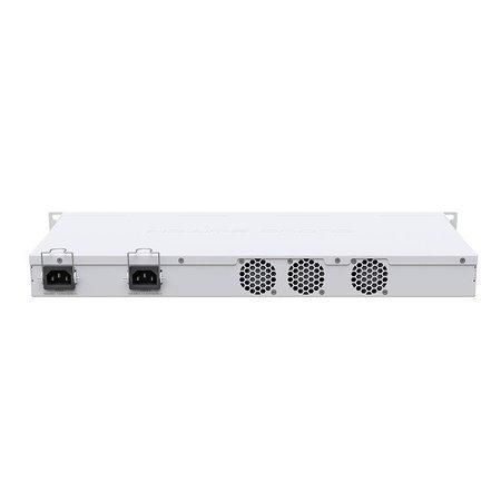 Mikrotik Mikrotik CRS326-24S+2Q+RM netwerk-switch Managed L3 Fast Ethernet (10/100) Wit 1U