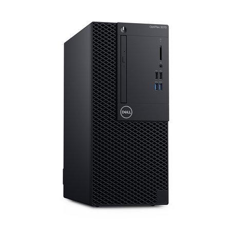 Dell DELL OptiPlex 3070 Intel® 9de generatie Core™ i5 i5-9500 8 GB DDR4-SDRAM 256 GB SSD Mini Tower Zwart PC Windows 10 Pro