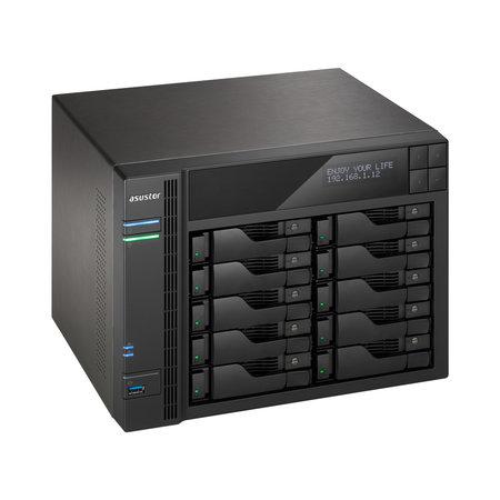 Asus Asustor AS6210T Ethernet LAN Zwart NAS