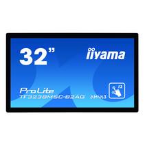 "iiyama TF3238MSC-B2AG beeldkrant 80 cm (31.5"") LED Full HD Touchscreen Interactief flatscreen Zwart"