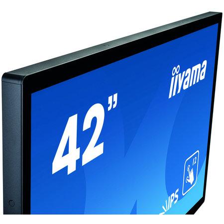 "Iiyama iiyama ProLite TF4338MSC-B2AG touch screen-monitor 109,2 cm (43"") 1920 x 1080 Pixels Zwart Multi-touch Kiosk"