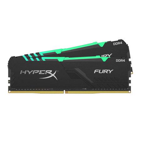 Kingston HyperX FURY HX432C16FB3AK2/16 geheugenmodule 16 GB 2 x 8 GB DDR4 3200 MHz